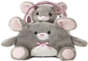 6097 - Mouse in Mouse Bag . TAMARR SALE 50% OFF  MIN  24 ASSORTED