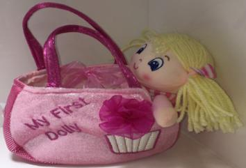 6120 - My First Dolly 'Sophia' in Bag - Tamarr Imports Innovative Giftware Pty Ltd