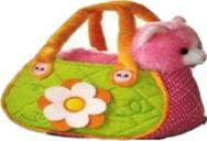 B32546 - Pink Cat in Flower Bag