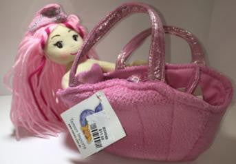 B33040 - Pink Hair Mermaid Fancy Pal 'Venus' TAMARR  SALE 50% OFF  MIN 24 ASSORTED