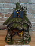 FD54 - Stone Solar Fairy House - BOXED QUANTITIES (2,3,4) - MIN 12 ASSORTED - Tamarr Imports Innovative Giftware Pty Ltd
