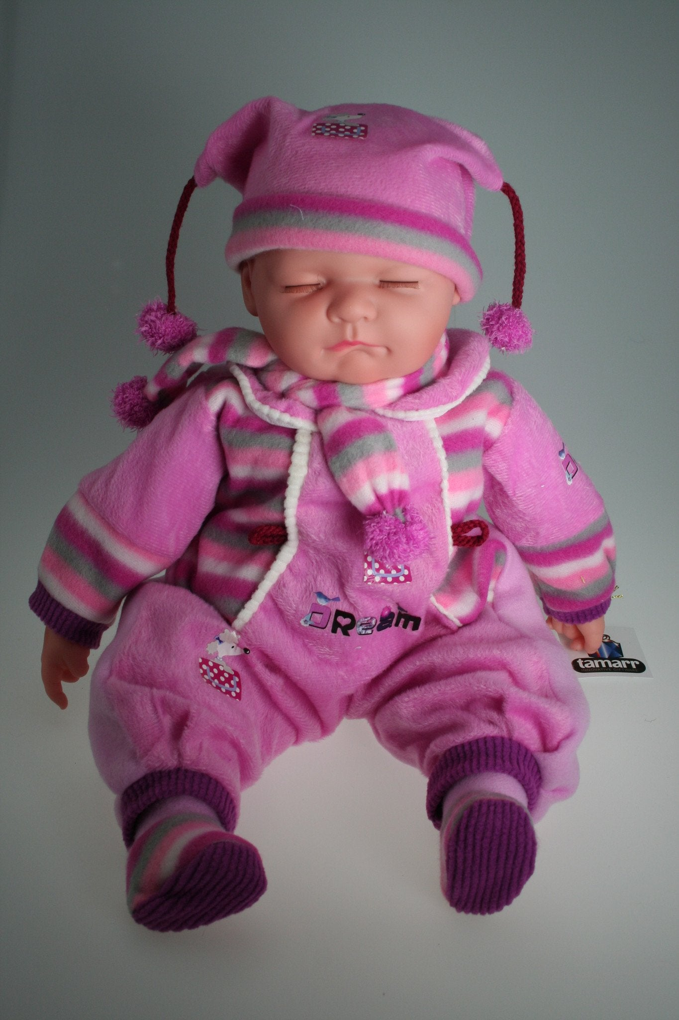HA314 - Sleeping Baby Doll: Eve - Tamarr Imports Innovative Giftware Pty Ltd