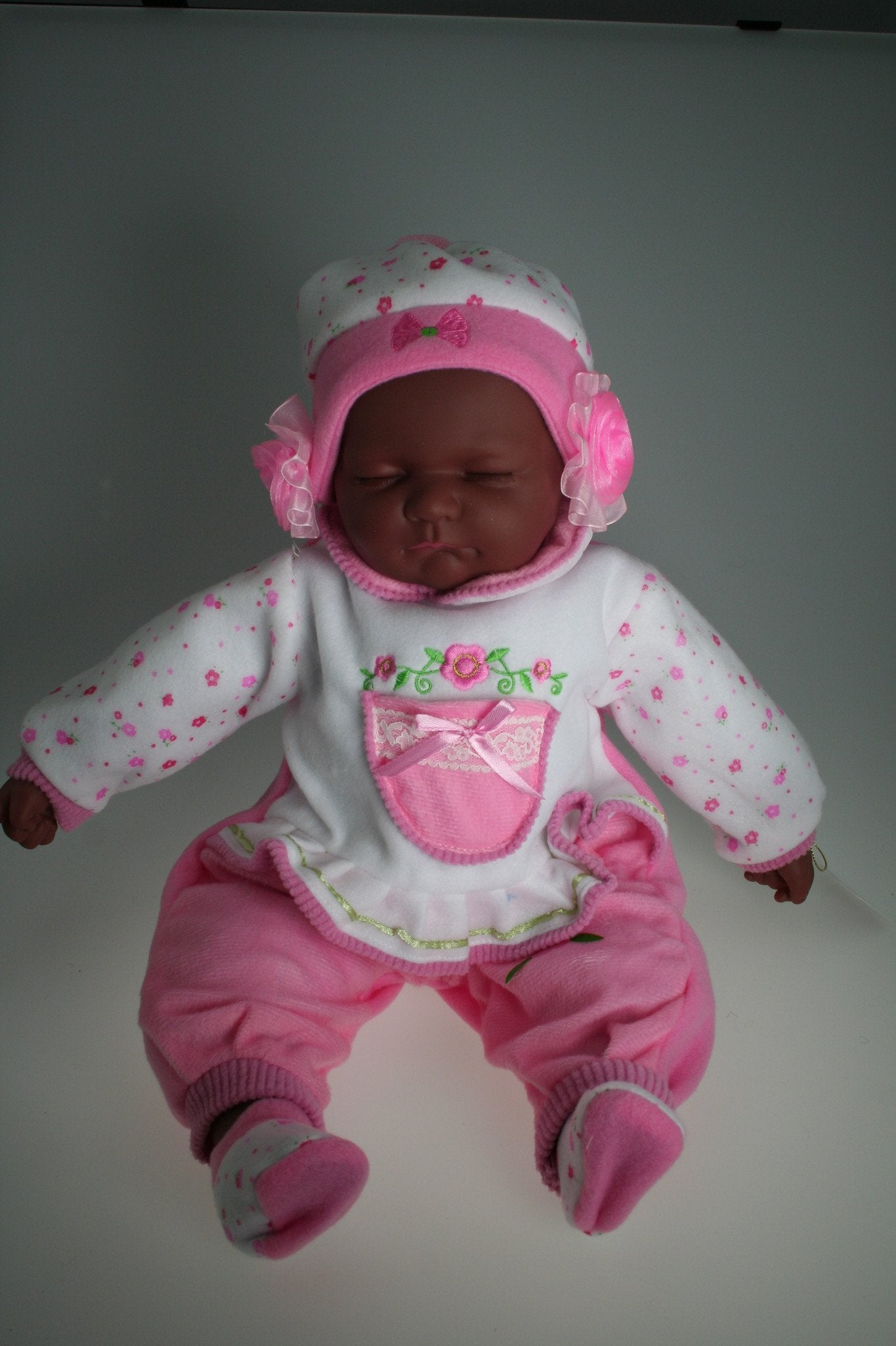 HA316 - Sleeping Baby Doll: Kimberley - Tamarr Imports Innovative Giftware Pty Ltd