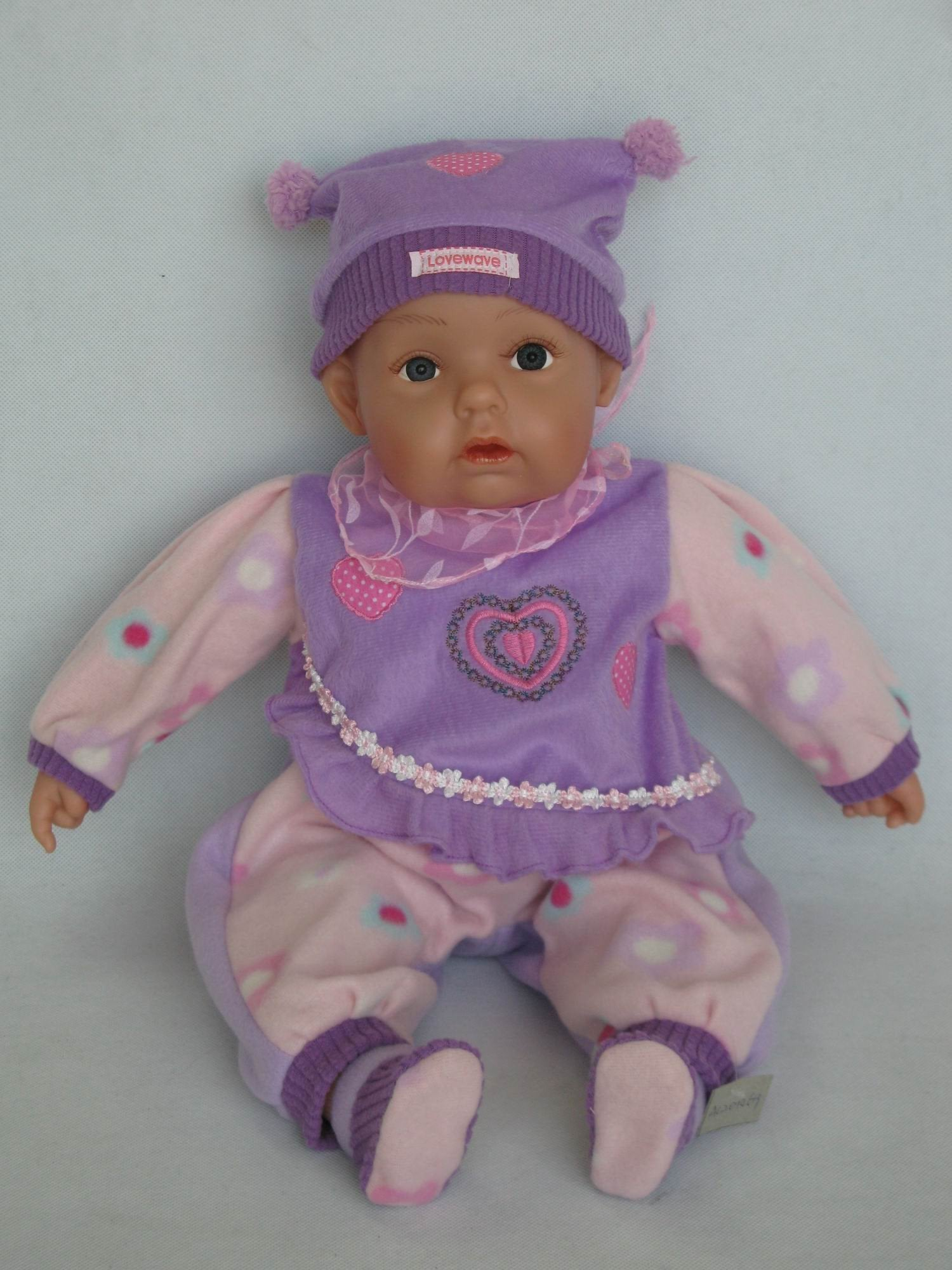 HA319 - Awake Baby Doll: Brooklyn - Tamarr Imports Innovative Giftware Pty Ltd