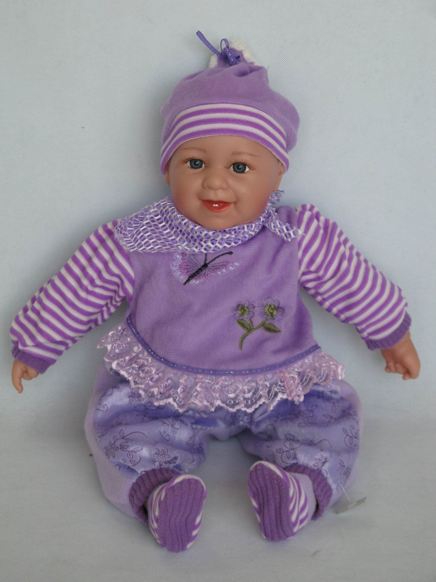 HA322 - Awake Baby  Doll: Nora - Tamarr Imports Innovative Giftware Pty Ltd