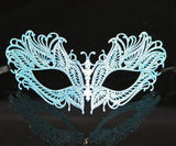 MK134 - Skyblue Metal Mask - CLEARANCE 50% OFF LISTED PRICE