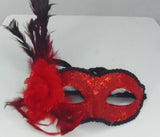 MK141 - Set of 3 Assorted Masks with Feathers - Tamarr Imports Innovative Giftware Pty Ltd