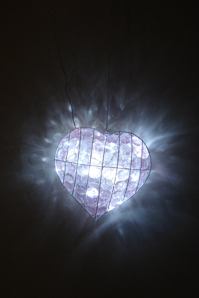 F. SR25 - Heart Shape LED Lamp -  TAMARR  SALE 70% OFF  .