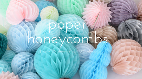 Paper Honeycombs