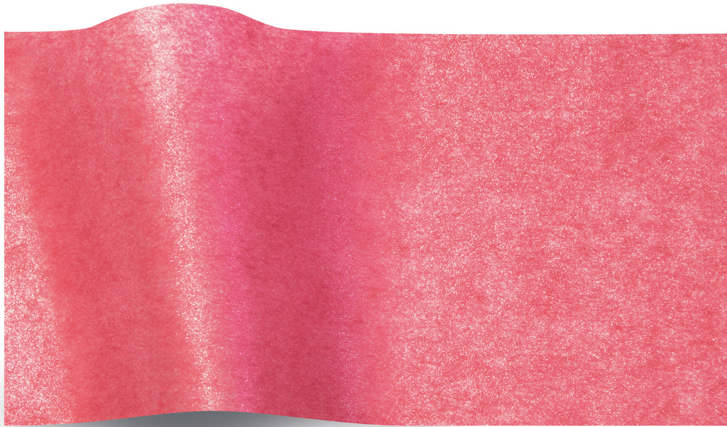Shimmery Cerise Pearlesence Tissue tissue paper 70x50cm - 10 sheets