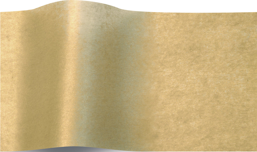 Shimmery Sun Gold Pearlesence Tissue tissue paper 70x50cm - 10 sheets