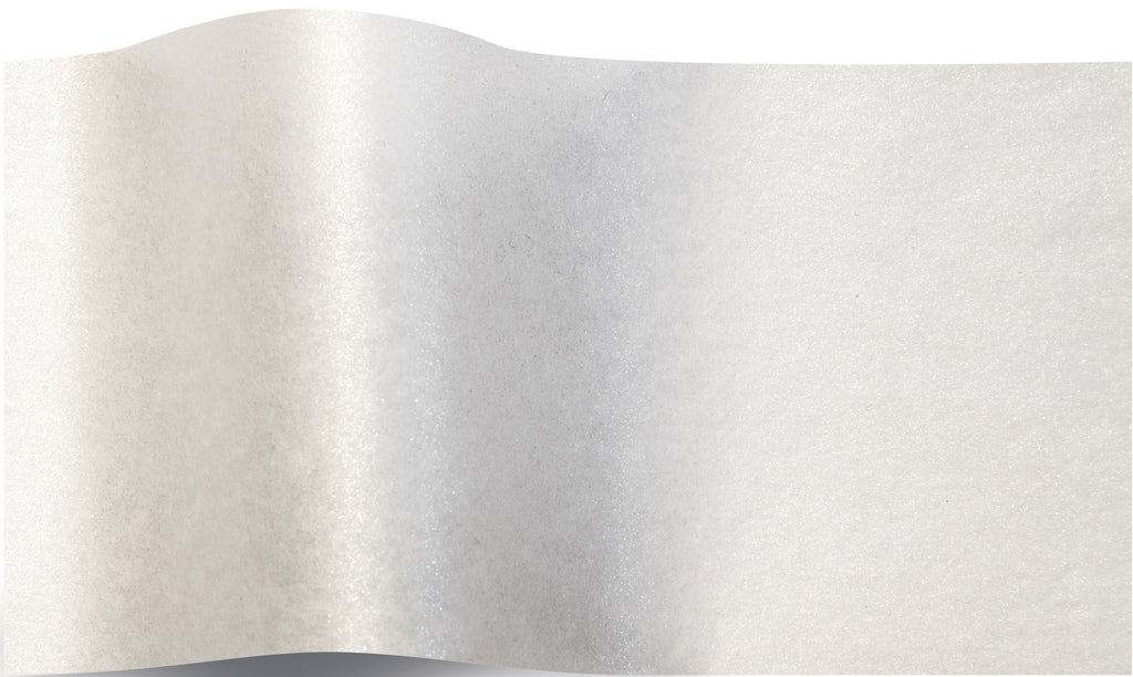Shimmery White Pearlesence Tissue tissue paper 70x50cm - 10 sheets