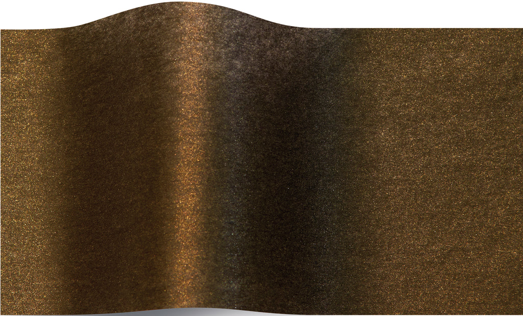 Shimmery Antique Gold Pearlesence tissue paper 70x50cm - 10 sheets