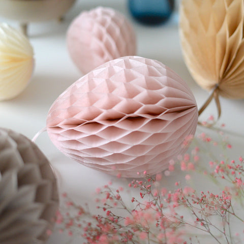 Honeycomb easter egg decoration - custom color - 30cm