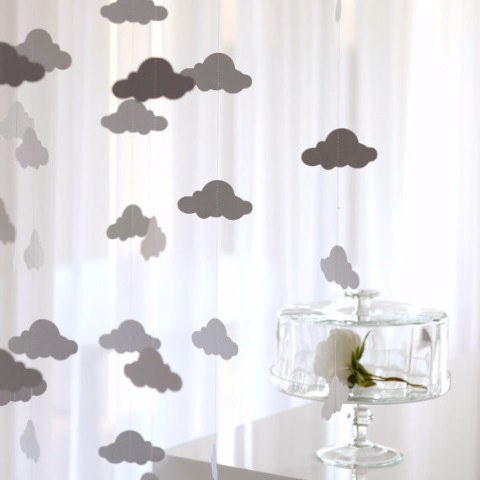 Garland - CLOUD Paper String Garland
