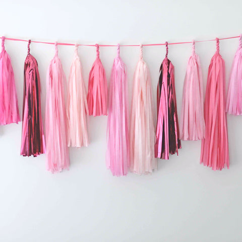 Garland - Pinky Sparks Tassel Garland - Various Lenghts