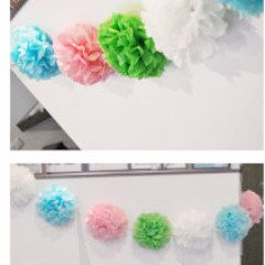 Garland - YOUR COLORS Mini Size Pom Pom Garland