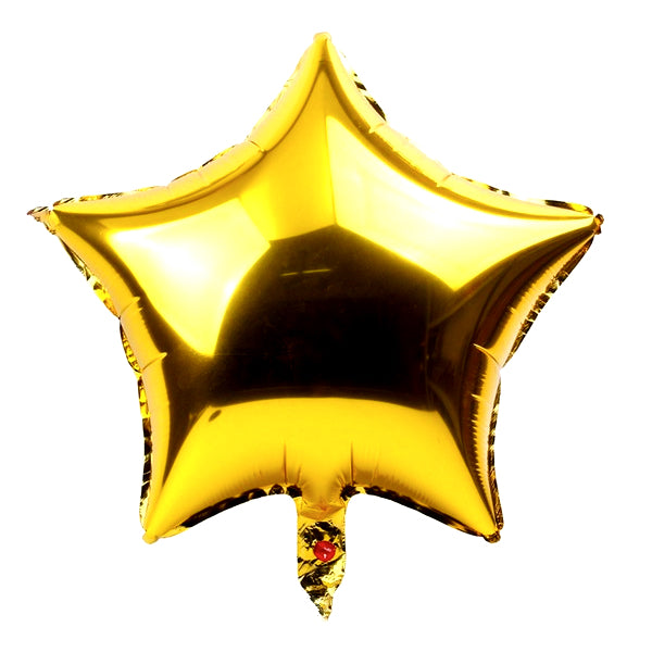Golden star foil Balloon