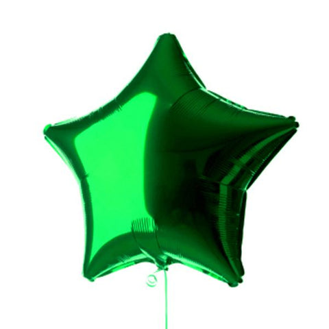 Green star Balloon 20