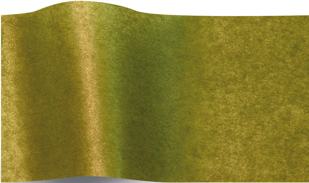 Shimmery green tea tissue paper tissue paper 70x50cm - 10 sheets