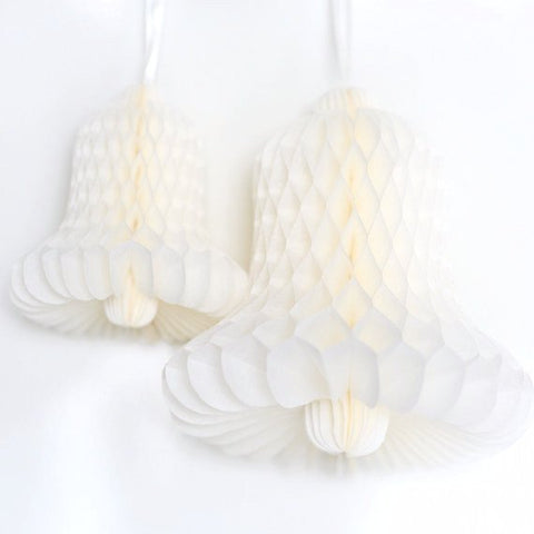 Honeycomb bell hanging decoration - custom color - 17 cm - Decopompoms - party decoration boutique