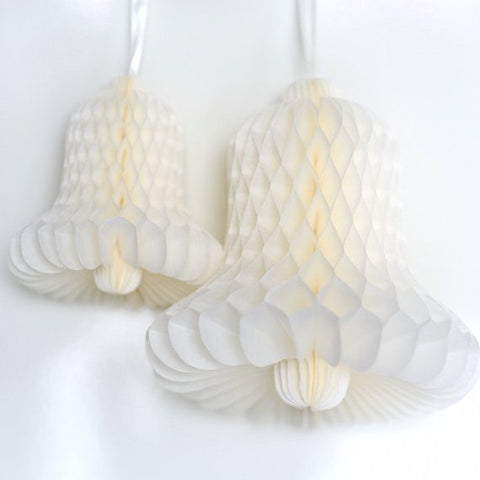 Honeycomb bell hanging decoration - custom color - 25 cm - Decopompoms - party decoration boutique