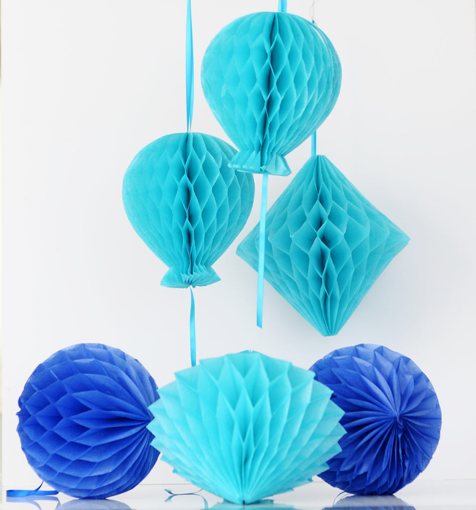 Honeycomb decoration party set