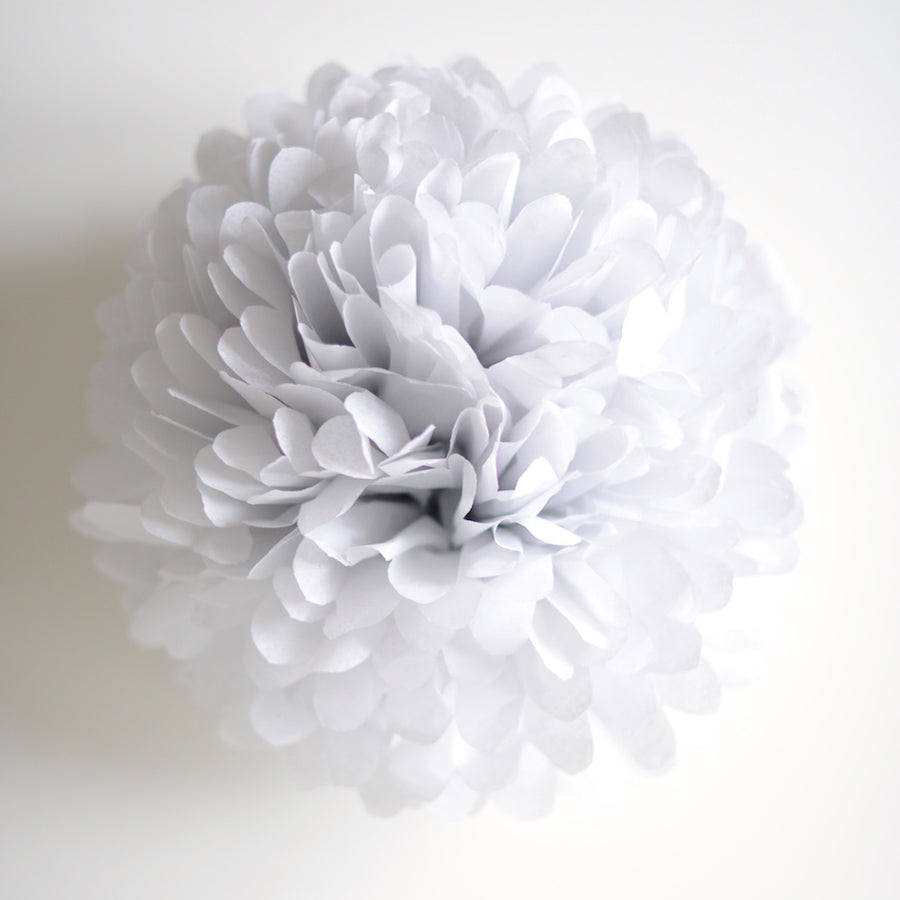 Large size mountain mist tissue paper pom pom