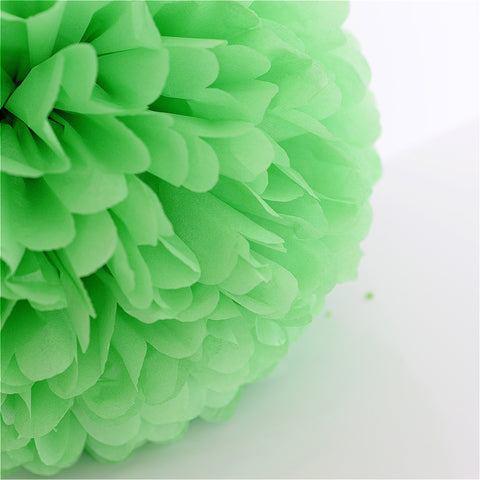 Apple green pompom - Decopompoms - party decoration boutique