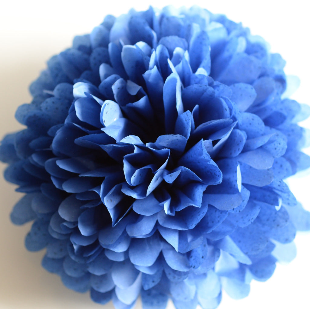 Pom - Blue Reflections Gemstone Tissue Paper Pom Pom