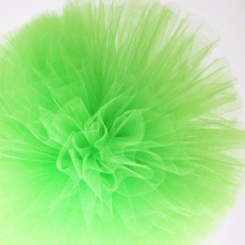 Citrus green tulle pom pom - Decopompoms - party decoration boutique