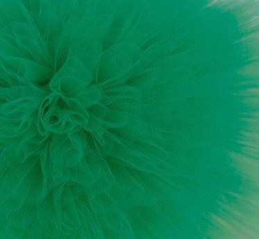 Dark green tulle pom pom - Decopompoms - party decoration boutique