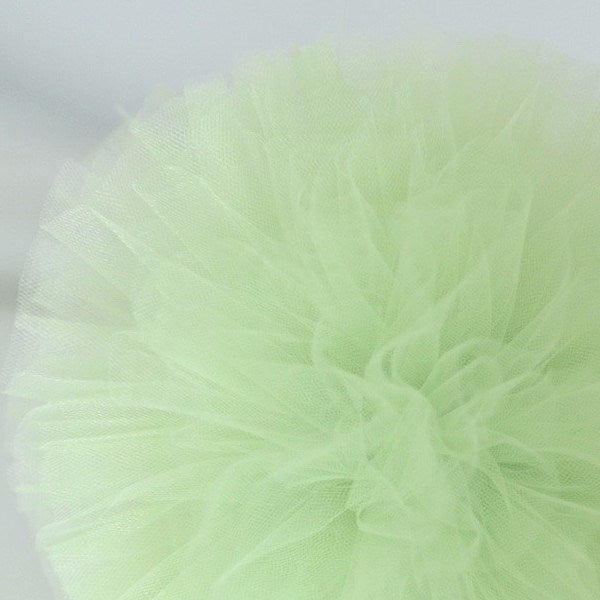 Light green tulle pom pom - Decopompoms - party decoration boutique