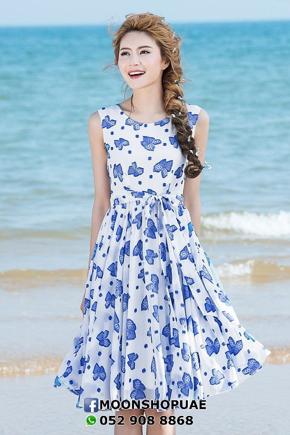 Butterflies Maxidress