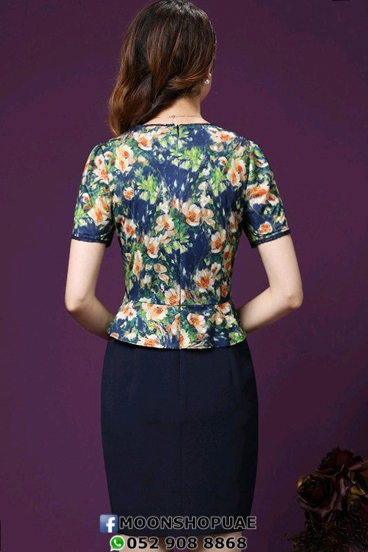 Flowers Short Sleeve