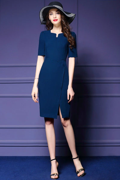 DRESS - Front Crossed