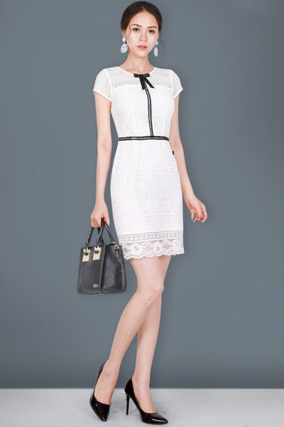 Dress - Lace Black Line