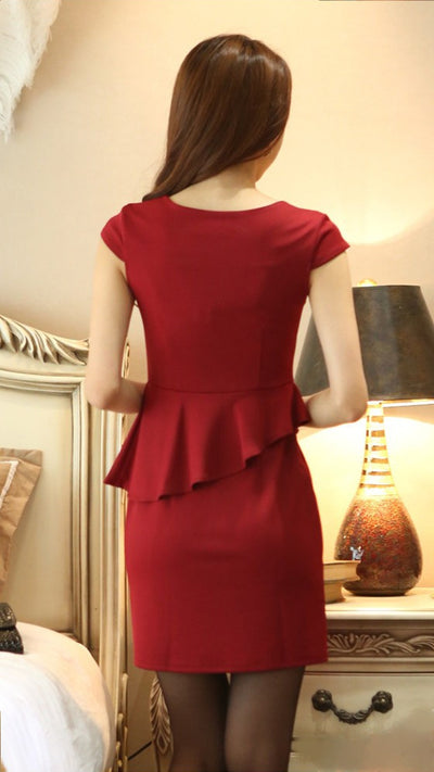 Dress - Maroon Dashing Dress
