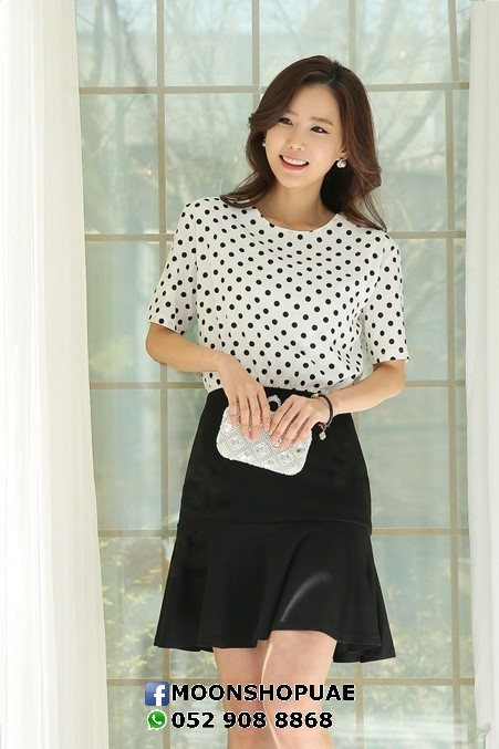 Polka Top Dress
