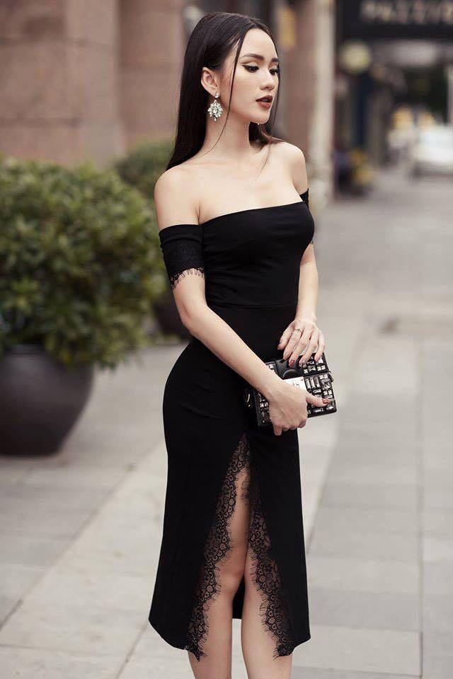 Strapless Slit Black