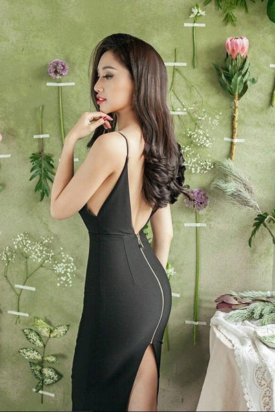 Dresses - Open Back Bodycon