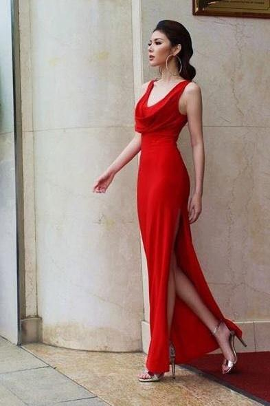 Dresses - Red Long Gown