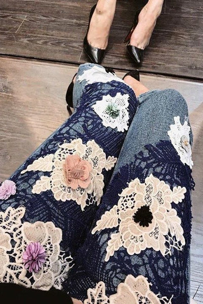 JEANS - Flowers Jeans