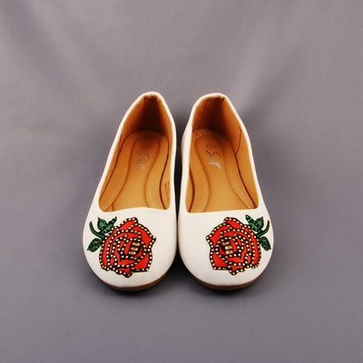Shoes - Flower Ballerinas