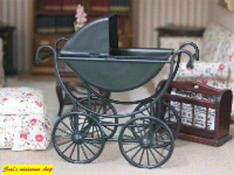 1:12  scale dollhouse miniature babies prams assorted styles.