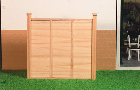 12th scale dollshouse miniature garden fence or gate