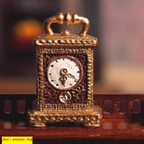 1:12  scale dollhouse miniature non working  mantel clock