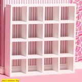 1:12 scale dolls house miniature D.H.E modern cubed display unit 3 to choose from.