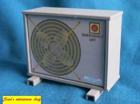 1:12 scale dollhouse miniature selection of air conditioning units
