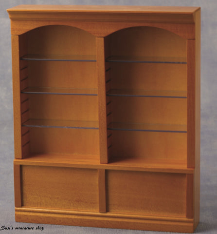 1:12 scale dolls house miniature deluxe adjustable shelving 9 to choose from.